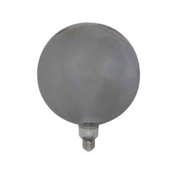 Deco LED globe Ø20x28 cm LIGHT 4W smoke E27 dimbaar