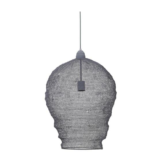 Light & Living Hanglamp Nikki - Grijs - Ø45x60 cm