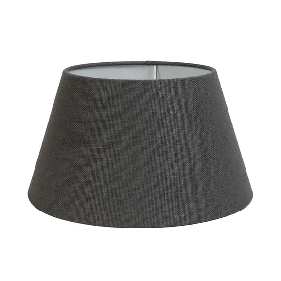 Kap drum 35-25-19 cm LIVIGNO donker grijs