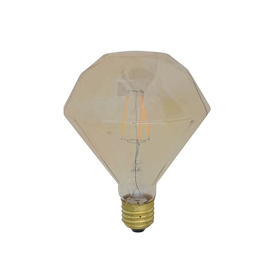 Led LIGHT diamant - Amber - 2W E27
