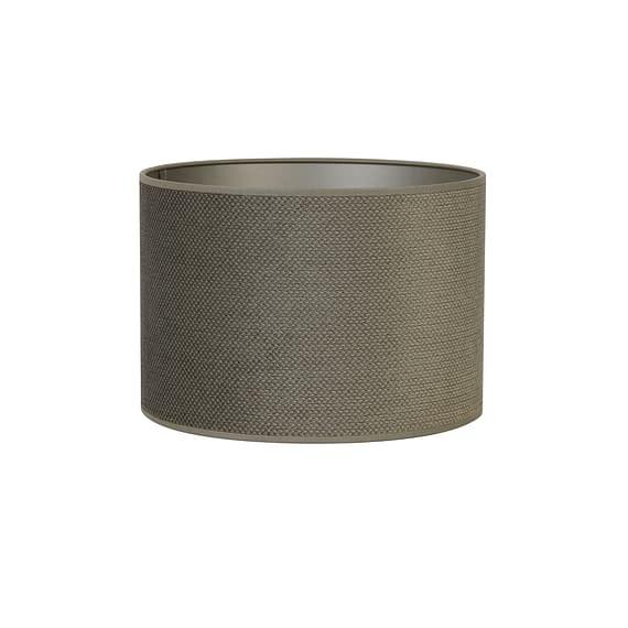 Cilinder lampenkap Vandy - Olive - Ø30x21 cm