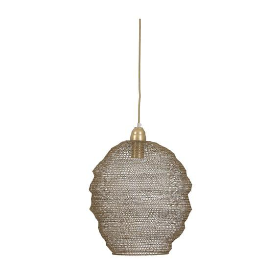 Hanglamp Nina - Gaas Antiek Brons - Ø38x42 cm