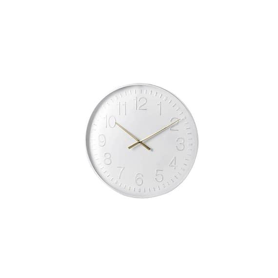 Parlane - Klok Boscombe - Wit - Ø60 x 5 cm