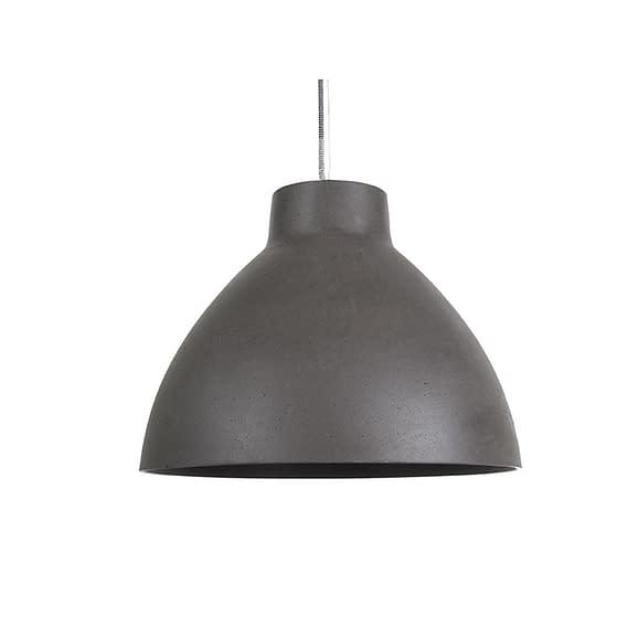 Grijs Hanglamp Sandstone Look - Donker Grijs - Large - 43x33cm
