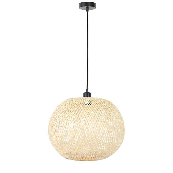 Grote bamboe hanglamp Loua