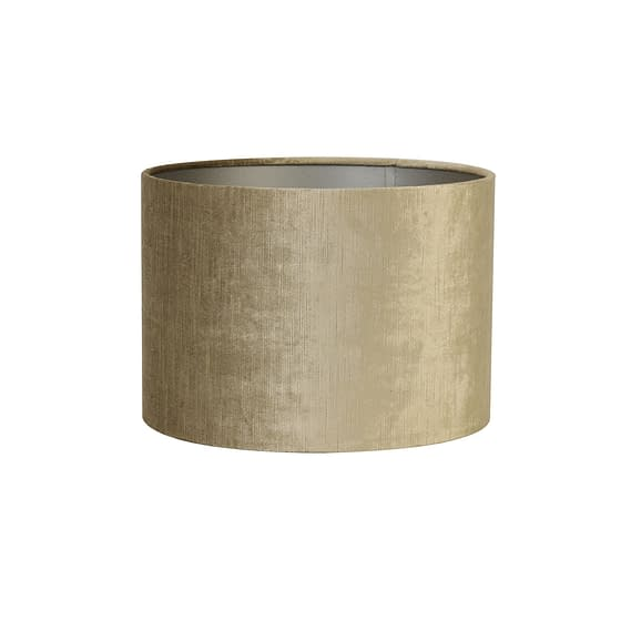 Cilinder lampenkap Gemstone - Brons - Ø40x30 cm
