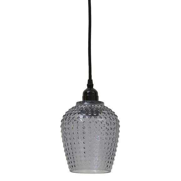 Hanglamp BERDINA - smoke - S