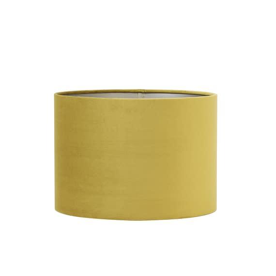Kap cilinder 50-50-38 cm VELOURS dusty gold