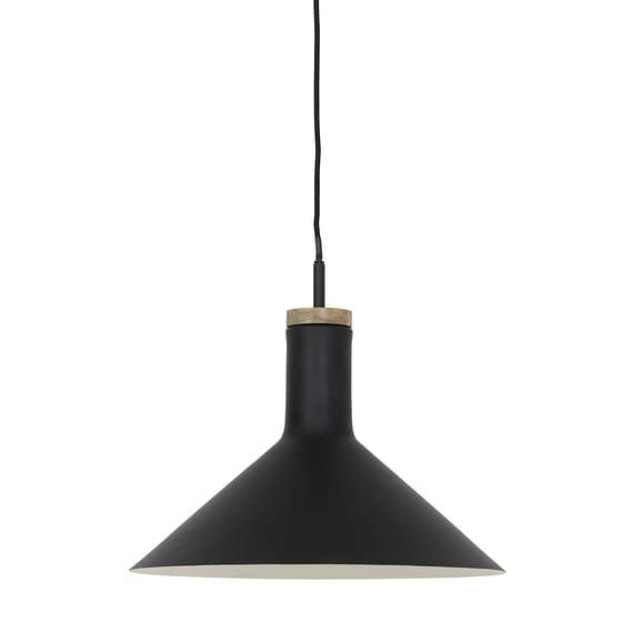 Hanglamp Ø40x34 cm BLISS zwart