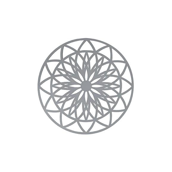 Grijs Muurkunst Fairytale - Donker Grijs - Medium - Ø40cm