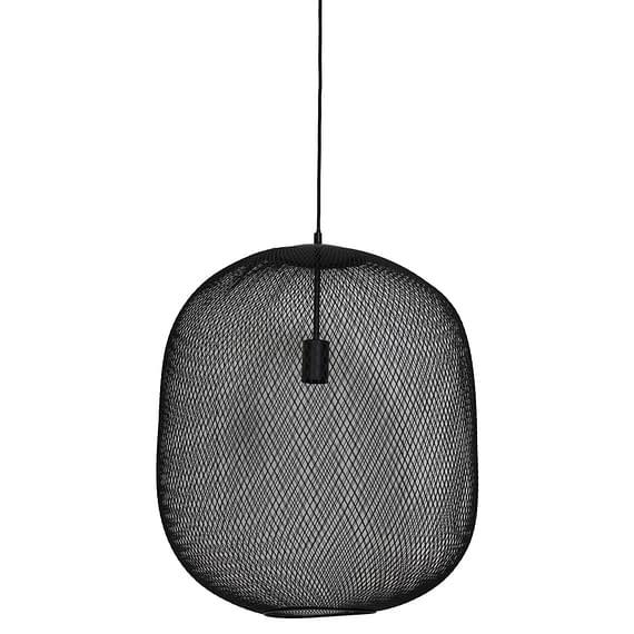 Light & Living - Hanglamp Ø50x56 cm REILLEY mat zwart - 2924912