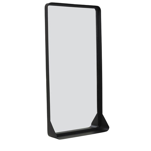 Spiegel SIPAU - mat zwart - L