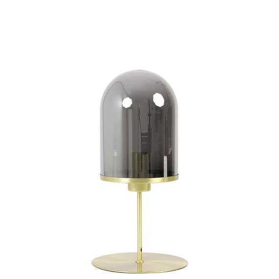 Tafellamp Maverick - Antiek Brons/Smoke - Ø22 x 50 cm