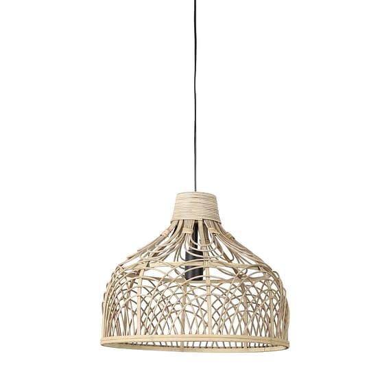 Hanglamp Pocita - Rotan Naturel - Ø42x35 cm