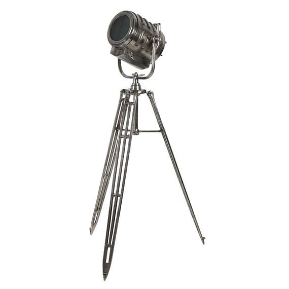 Vloerlamp WILSON - Ruw Antiek-nikkel