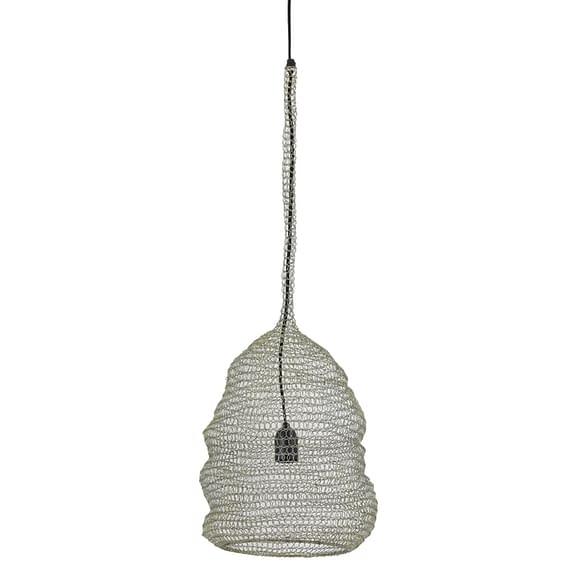 Moderne hanglamp in een gouden kleur