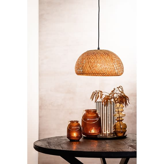 Hanglamp Timeo - Bamboe Naturel - Ø36x21 cm