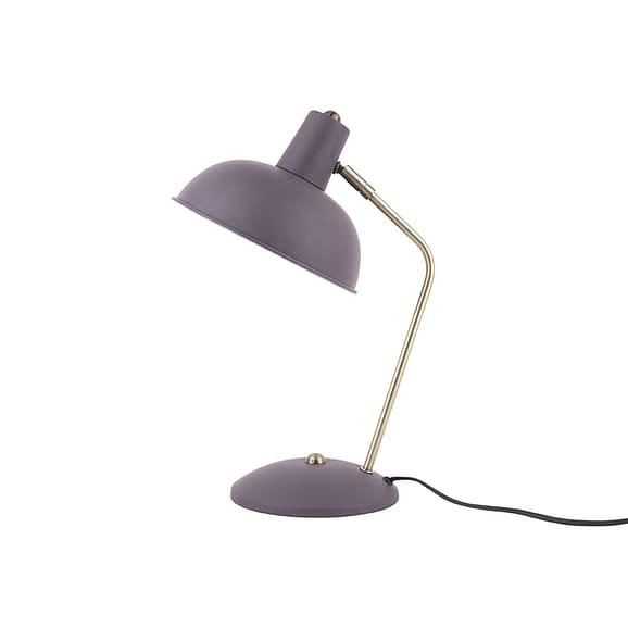 Paars Tafellamp Hood - Metaal mat Donkerpaars - 37