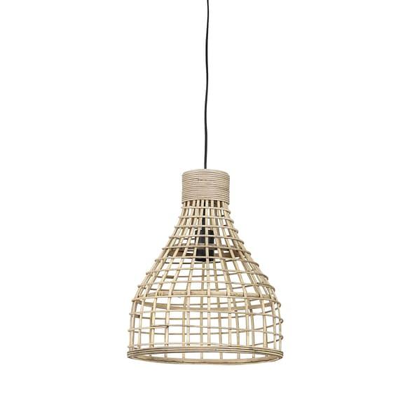 Hanglamp Puerto - Rotan Naturel - Ø34x41