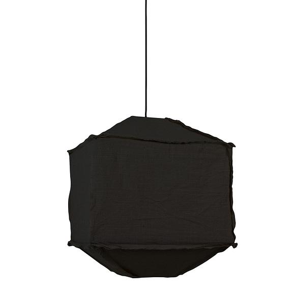 Light & Living Hanglamp Titan - Zwart - 50x50x60 cm