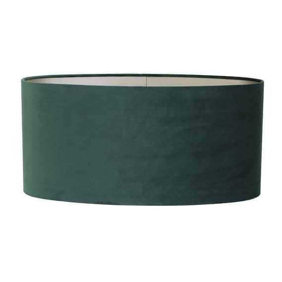 Kap ovaal recht 80-80-32 cm VELOURS dutch green