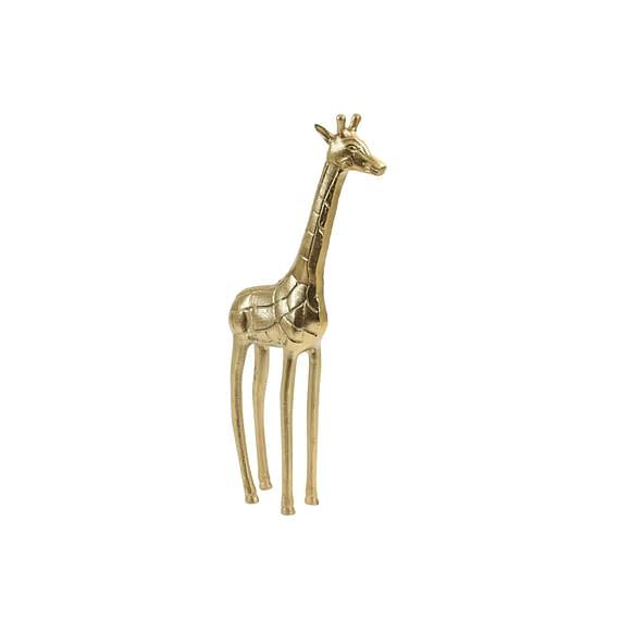 Ornament Giraffe - Goud - 17x9x46 cm