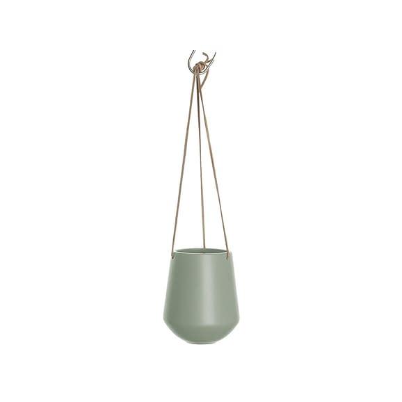 Groen Hangende plantenpot Skittle - Mat Jungle Groen - 66x13