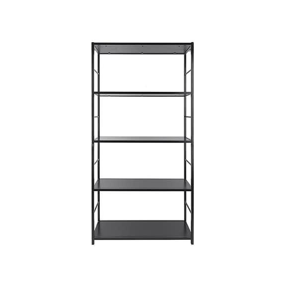 Zwart Wandkast Fushion - Zwart - 90x30x178cm