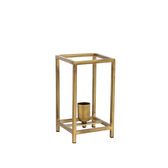 Tafellamp 14x14x25 cm MARLEY antiek goud
