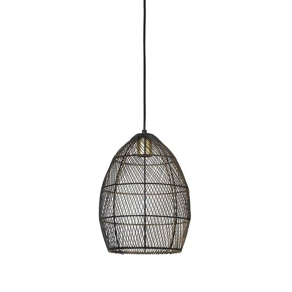 Light & Living - Hanglamp Ø23x31 cm MEYA zwart-goud - 2933412