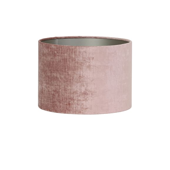 Kap cilinder 35-35-30 cm GEMSTONE oud roze