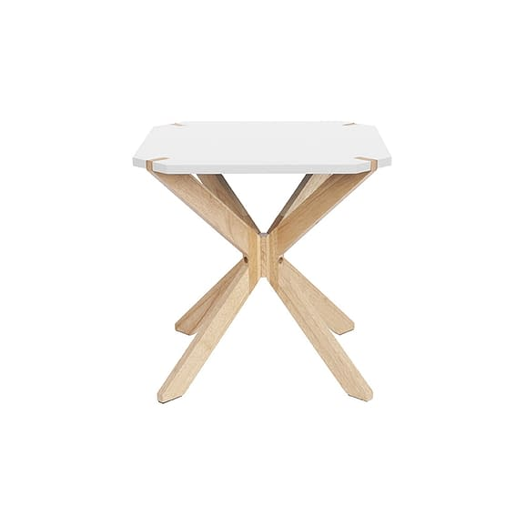 Wit Side table Mister X - Rubber Hout