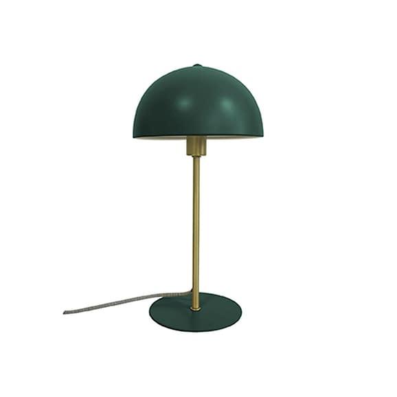Leitmotiv - Tafellamp Bonnet - Metaal Donkergroen - 20x20x39cm