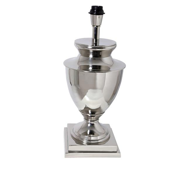 Lampvoet CLAUDIA vierkant - Nikkel