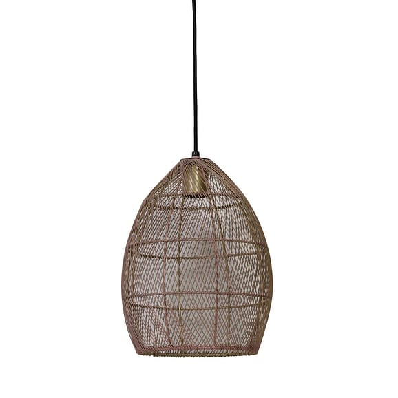 Light & Living Hanglamp Meya - Oud Roze/Goud - Ø23x31 cm