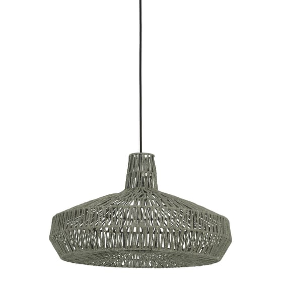 Hanglamp Ø59x35 cm MASEY donker groen