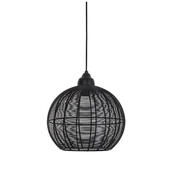 Light & Living - Hanglamp MILLA - mat zwart - 2902712