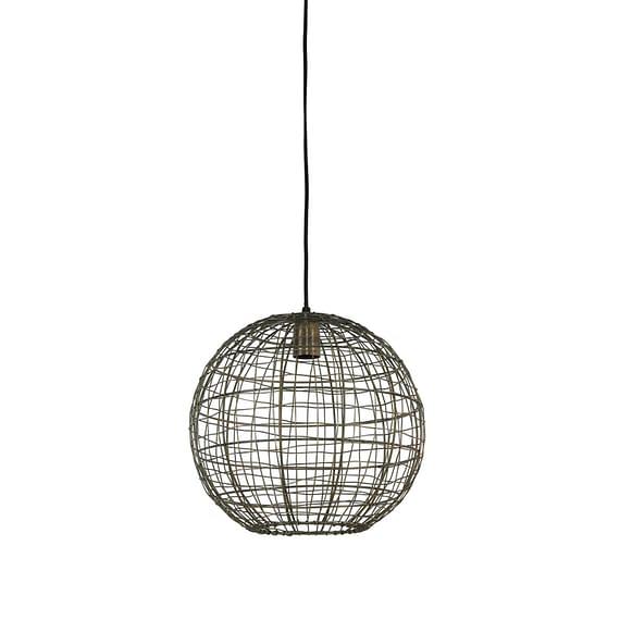 Hanglamp Mirana - Antiek Brons - Ø35 x 33 cm