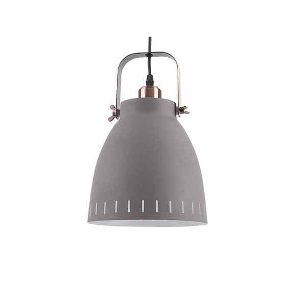 Grijs Hanglamp Mingle - Metaal Grijs