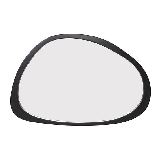Spiegel Sonora - Hout Zwart - 120 x 5 x 80 cm