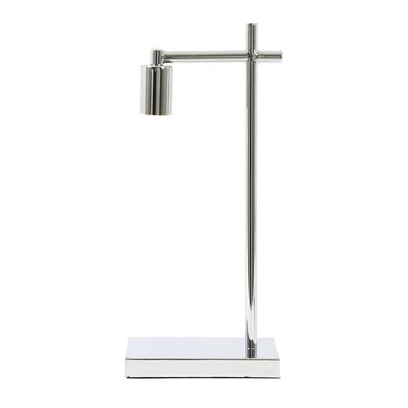 Light & Living Tafellamp Corby - Chroom - 21x12x45