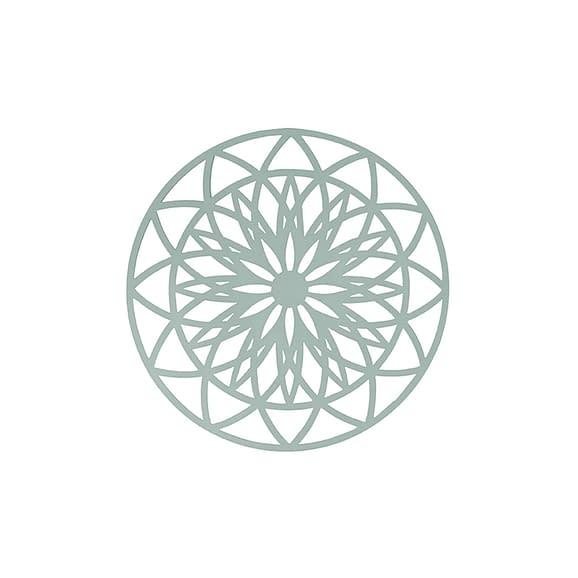Groen Muurkunst Fairytale - Mint Groen - Medium - Ø40cm