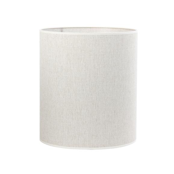 Kap cilinder Breska - Parel Wit - Ø35x40 cm