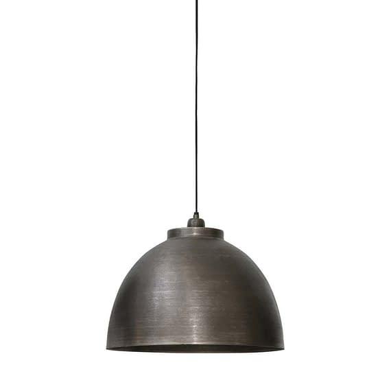 Hanglamp KYLIE - Donker Ruw Nikkel - L