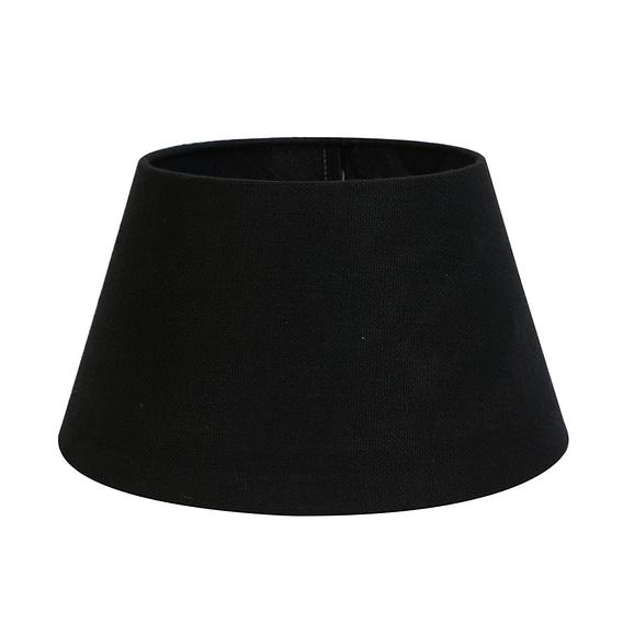 Kap drum 50-40-27 cm LIVIGNO zwart