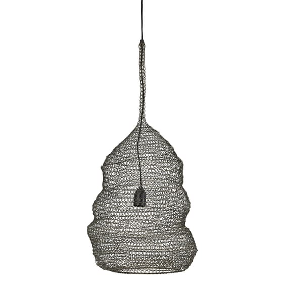 Hanglamp Ikkin - Antiek Brons - Ø31 x 50 cm
