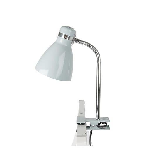 Leitmotiv - Clip on lamp Study - Metaal misty Grijs - 34x11