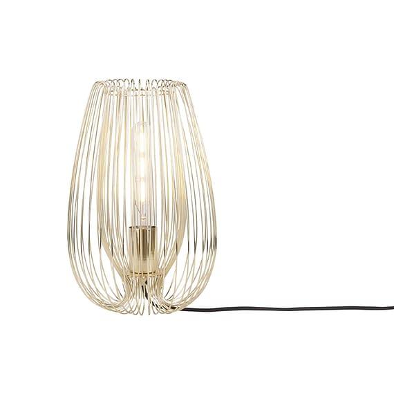 Leitmotiv - Tafellamp Lucid - IJzer Verguld - 33x22cm