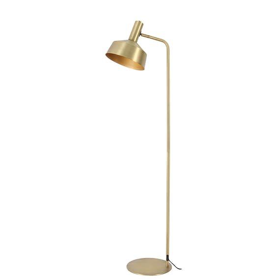 Vloerlamp Yvla - Antiek Brons - 44x30x158 cm