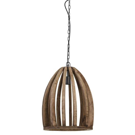 Hanglamp Haranka - Bruin - Ø38x46 cm